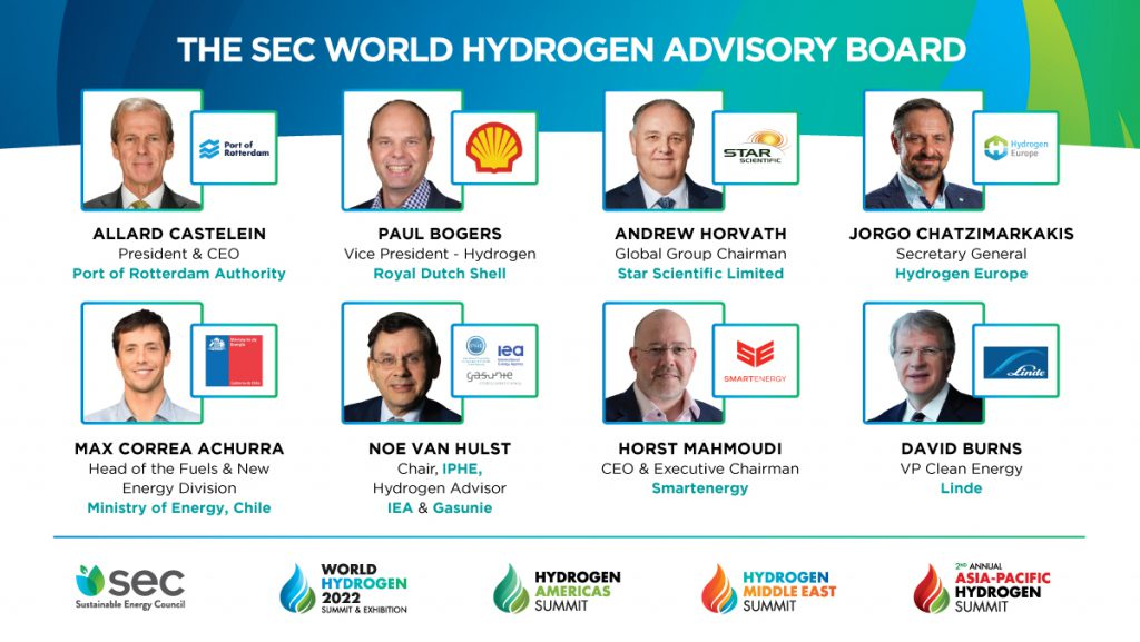 SEC World Hydrogen Advisory Board